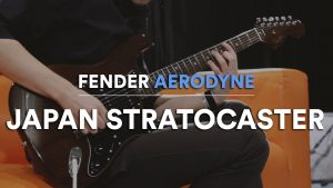 Couverture fender stratocaster aerodyne guitare japan edition