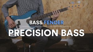 fender precision bass demo