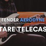 La guitare Special Edition Aerodyne Telecaster : notre test