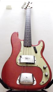 bass aerodyne fender precision bass