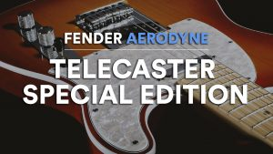 fender aerodyne special edition telecaster guitare