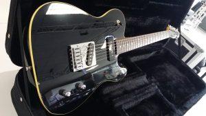 Guitare electrique fender telecaster aerodyne special edition noire neuve