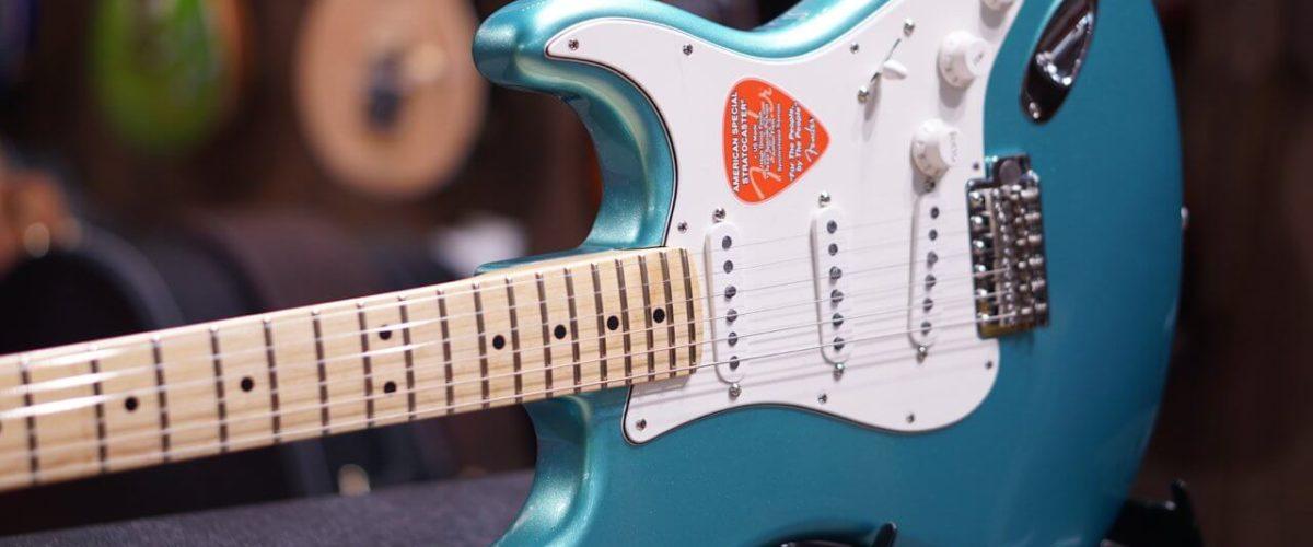 La Fender American Special Stratocaster