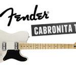 La Fender Cabronita Telecaster : une guitare atypique